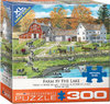 Eurographics - Farm by the Lake Puzzle (300 Pieces)