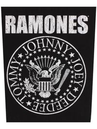 Ramones - Classic Seal (Back Patch) - Cover