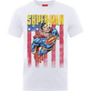 Superman US Flight Boys White T-Shirt (7 - 8 Years)