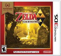 The Legend of Zelda: A Link Between Worlds - Nintendo Selects (US Import 3DS) - Cover