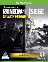 Tom Clancy's Rainbow Six: Siege - Advanced Edition (Xbox One) - Cover