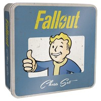 Fallout Chess Set (Board Game) - Cover