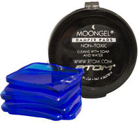 RTOM MoonGel Drum Damper Pads (Blue) - Cover