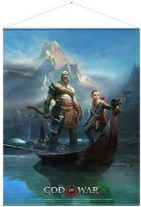 God of War - Father and Son Wallscroll - Cover