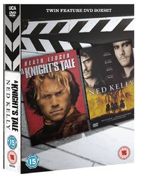 A Knight's Tale/Ned Kelly (DVD) - Cover