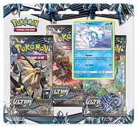Pokémon TCG - Sun & Moon: Ultra Prism 3-Booster Blister (Trading Card Game) - Cover