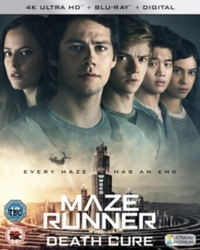 Maze Runner: The Death Cure (4K Ultra HD + Blu-ray) - Cover