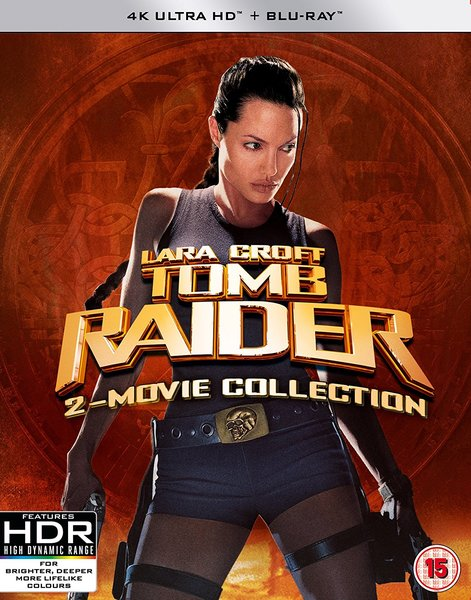 Lara Croft Tomb Raider 2 Movie Collection Ultra Hd Blu Ray