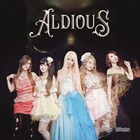 Aldious - Unlimited Diffusion (CD) - Cover