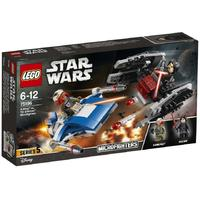 LEGO® - Star Wars A-Wing vs. TIE Silencer Microfighters