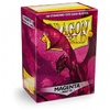 Dragon Shield - Standard Sleeves - Matte Magenta (100 Sleeves)