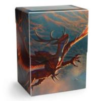 Dragon Shield - Deck Shell / Box - Crimson 'Logi' (Limited Edition)