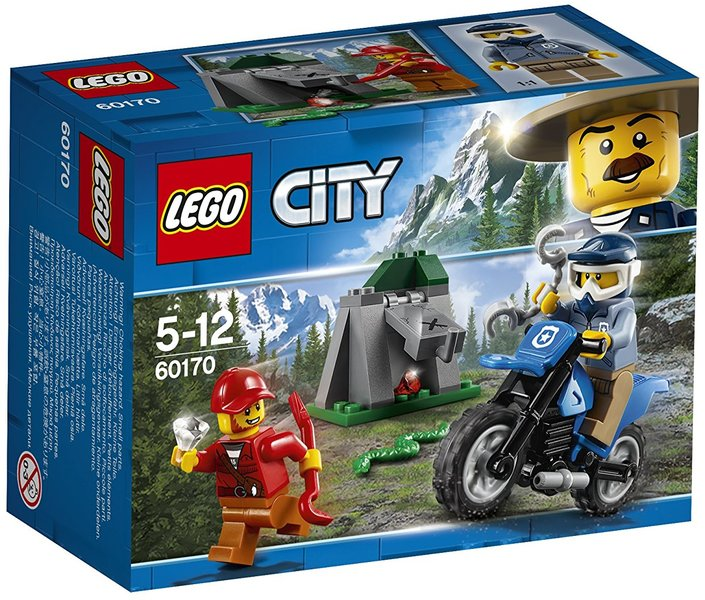 LEGO® City - Police Off-Road Chase - Hobbies & Toys Online | Raru
