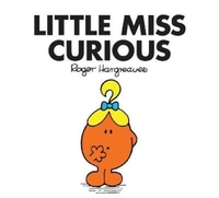 Little Miss Curious - Roger Hargreaves (Paperback) - Cover
