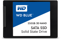 WD Blue 3D NAND 250GB 2.5 inch Serial ATA III Internal Solid State Drive