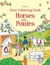 First Colouring Book Horses and Ponies - Jessica Greenwell (Paperback)