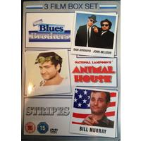 Blue's Brothers/National Lampoons/Stripes (DVD)