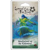 Legend of the Five Rings: The Card Game - Meditations on the Ephemeral (Card Game)