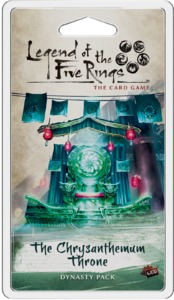 Legend of the Five Rings: The Card Game - The Chrysanthemum Throne (Card Game) - Cover