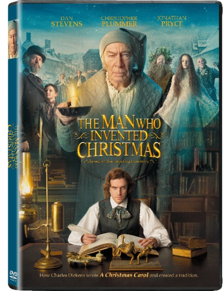 The Man Who Invented Christmas Dvd.The Man Who Invented Christmas Dvd