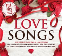 Various Artists - 101 Love Songs Hits (CD) - Cover