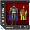 "Batman the Animated Series - Batman and Robin 5.5"" Bendable Figures"