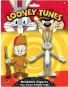 Looney Tunes - Bugs Bunny & Elmer Fudd Bendable Figures (Pack of 2)