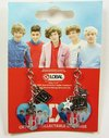 One Direction - Heart Earrings