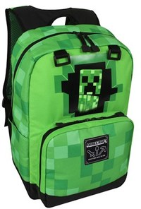 Minecraft - Creepy Creeper Single Backpack - Cover