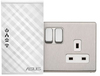 ASUS - PL-N12 Kit  Power Line Extender N300 Wi-Fi