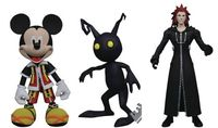 Kingdom Hearts - Series 2 Action Figures (Set of 3) - Cover