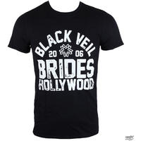 Black Veil Brides Hollywood Mens Black T-Shirt (Small)