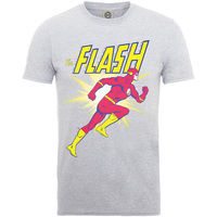 DC Originals Flash Running Boys Grey Marl T-Shirt (12-13 years) - Cover