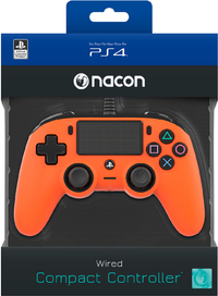 NACON - Wired Compact Controller for PlayStation 4 - Orange (PS4) - Cover