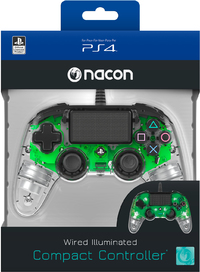 NACON - Wired Compact Controller for PlayStation 4 - Light Green (PS4) - Cover