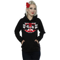 DC Comics Batman V Superman Face Off Ladies Black Pullover Hoodie (X-Small) - Cover