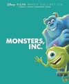 Disney Pixar Movie Collection: Monsters, Inc. (Hardcover) Cover