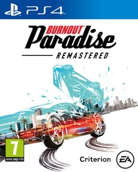 Burnout Paradise: Remastered (PS4) - Cover