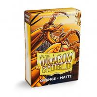 Dragon Shield - Japanese Size Sleeves - Matte Orange (60 Sleeves)
