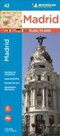 Michelin Madrid Map 42 (Paperback)