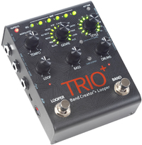 Digitech Trio+ Band Creator and Looper Guitar Effects Pedal - Cover