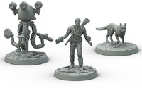 Fallout: Wasteland Warfare - Survivors Sanctuary Hills (Miniatures) - Cover