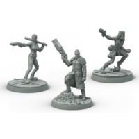 Fallout: Wasteland Warfare - Survivors Boston Companions (Miniatures) - Cover