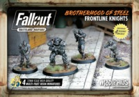 Fallout: Wasteland Warfare - Brotherhood of Steel Frontline Knights (Miniatures) - Cover