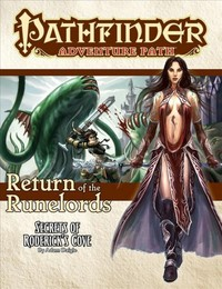 Pathfinder Adventure Path - Return of the Runelords: Secrets of Roderick's Cove (Role Playing Game) - Cover