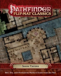 Pathfinder Flip-mat - Classics: Seedy Tavern (Role Playing Game) - Cover