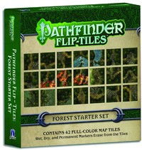 Pathfinder Flip-Tiles - Forest Starter Set (Role Playing Game) - Cover