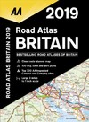Aa Road Atlas Britain 2019 - Aa Publishing (Spiral bound)