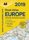 Aa Road Atlas Europe 2019 - Aa Publishing (Spiral bound)