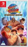 Street Fighter: 30th Anniversary Collection (Nintendo Switch) Cover